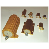 ALUMINUM HOUSED . WIRE WOUND RESISTORS